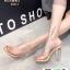 รองเท้าส้นแก้ว งานใหม่ล่าสุด 816-1-KHA [สีกากี] thumbnail 2
