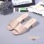 รองเท้าลำลองส้นเหลี่ยม 523-CRE [สีครีม] thumbnail 1