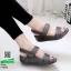 รองเท้าสุขภาพ รัดข้อ F1070-เทา [สีเทา] thumbnail 1