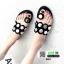 รองเท้าแตะแฟชั่น ฉลุลาย อะไหล่กลม N811-BLK [สีดำ] thumbnail 1