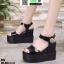 รองเท้าทรงเตารีดแบบรัดข้อ ST9-BLK [สีดำ] thumbnail 2