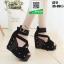 รองเท้าหุ้มส้นทรงเตารีด ST17-BLK [สีดำ] thumbnail 4