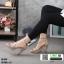 รองเท้าส้นสูงหุ้มข้อรัดส้น สไตล์valentino G5-274-CRM [สีครีม] thumbnail 4