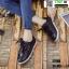 รองเท้าผ้าใบสไตล์เกาหลี ST888-BLK [สีดำ] thumbnail 2