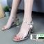 รองเท้าลำลองแบบสวม ทรง maxi G1289-GLD [สีทอง] thumbnail 2