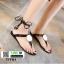 รองเท้าแตะส้นแบน jelly sandals TIT01-BLK [สีดำ] thumbnail 4