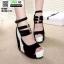 รองเท้าหุ้มส้นทรงเตารีด ST1007-BLK [สีดำ] thumbnail 1