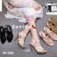 รองเท้าส้นสูงสไตล์YSL 18-1326-GLD [สีทอง] thumbnail 4
