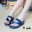 รองเท้าส้นเตารีด style fitflop L1964-BLU [สีน้ำเงิน] thumbnail 1