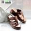 รองเท้าสุขภาพพื้นนิ่มใส่สบาย PF2064-BRN [สีน้ำตาล] thumbnail 2
