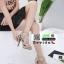 รองเท้าส้นสูงหุ้มข้อ วัสดุผ้านุ่ม 17-2317-CRM [สีครีม] thumbnail 3