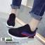 รองเท้าผ้าใบสไตล์เกาหลี IM0223-BLACK [สีดำ] thumbnail 4