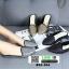 รองเท้าลำลองเปิดส้น ทรงหัวแหลม B55-354-SIL [สีเงิน] thumbnail 2