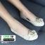 รองเท้าคัชชู สไตล์แบรนด์ CHANEL AC981-CRE [สีครีม] thumbnail 2