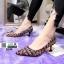 รองเท้าคัทชูสไตล์ MUi MUi 1099-BLACK [สีดำ]