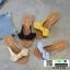 รองเท้าแตะสวมแต่งโบ G-1380-YEL [สีเหลือง] thumbnail 4