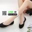 รองเท้าคัชชูหัวมน 18-1338-BLK [สีBLK] thumbnail 5