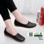 รองเท้าคัชชู เพื่อสุขภาพ มีไซส์ 41 3076-ดำ [สีดำ]