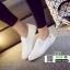 รองเท้าผ้าใบทรงสวมไม่ต้องผูกเชือก 237-WHI [สีขาว] thumbnail 2