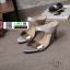 รองเท้าลำลองส้นเตารีดแบบคีบ M1822-BWN [สีน้ำตาล] thumbnail 3