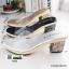 รองเท้าส้นสูงทรงสวยมากค่ะ 8416-BLACK [สีดำ] thumbnail 2
