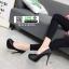 รองเท้าคัทชูส้นเข็ม สไตล์ ZARA K9319-BLACK [สีดำ] thumbnail 2