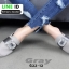 รองเท้าส้นเตี้ย เปิดส้น Roger G33-13-GRY [สีเทา]