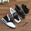 รองเท้าผ้าใบเสริมส้น งานนำเข้า100% ST3-BLK [สีดำ] thumbnail 5