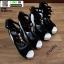 รองเท้าหุ้มส้นทรงเตารีด ST1007-BLK [สีดำ] thumbnail 4
