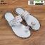 รองเท้าแตะลำลองแบบสวมนิ้วโป้ง 1620-SIL [สีเงิน] thumbnail 1