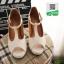 คัชชู เสริมหน้า รัดข้อ SP011-WHITE [สีขาว] thumbnail 1