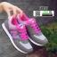 รองเท้าผ้าใบ ทรงสปอร์ต SM9027-GRY [สีเทา] thumbnail 1