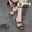 รองเท้าส้นสูงติดดาว 18-5549-BLK [สีดำ] thumbnail 1