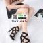 รองเท้าส้นสูงหุ้มข้อ วัสดุผ้านุ่ม 17-2317-BLK [สีดำ] thumbnail 2