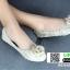 รองเท้าคัชชู สไตล์แบรนด์ CHANEL AC981-CRE [สีครีม] thumbnail 4