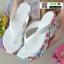 รองเท้าแตะคีบญี่ปุ่น V1009-ขาว [สีขาว] thumbnail 3