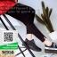 รองเท้าผ้าใบ ทรงสปอร์ต W950-BLK [สีดำ] thumbnail 5