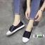 รองเท้าผ้าใบหนัง SG-131-BLK [สีดำ] thumbnail 1