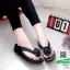 รองเท้าสุขภาพสไตล์ฟิทฟลอบ แต่งดอกคามิเลีย 119-ดำ [สีดำ] thumbnail 2