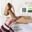 รองเท้าคัชชูงานหนังเนื้อนิ่มดีไซน์ทรงหัวแหลม B76-53-BWN [สีน้ำตาล] thumbnail 2
