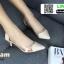 รองเท้าคัทชูหนังแก้ว หัวใจใส B13-511-CRE [สีครีม]