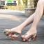 รองเท้าแบบสวมส้นเตารีด ST5117-GLD [สีGLD] thumbnail 3