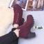 รองเท้าบูทส้นสูงนำเข้า JIH-888-RED [สีแดง] thumbnail 4