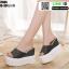 รองเท้าแบบสวมทรงเตารีด ST986-BLK [สีดำ] thumbnail 2