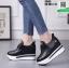 รองเท้าผ้าใบเสริมส้น ST526-BLK [สีดำ] thumbnail 3