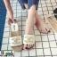 รองเท้าแตะ Chanel แต่งมุก G-1371-WHI [สีขาว] thumbnail 1