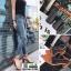 รองเท้าส้นสูงรัดส้น เปลือยเท้า G-1382-BLK [สีดำ] thumbnail 3