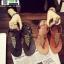 รองเท้าแตะ หูหนีบ ipomoea G-1280-BLK [สีดำ] thumbnail 3