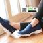 รองเท้าผ้าใบลำลอง เพื่อสุขภาพ A371-BLU [สีน้ำเงิน] thumbnail 3