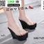 รองเท้าแบบสวมส้นเตารีด 17-2299-BLK [สีดำ] thumbnail 1